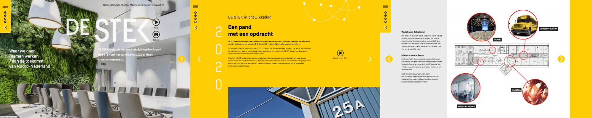 Website DE STEK door NIO